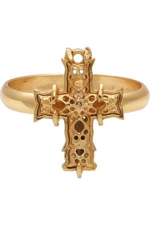 EMANUELE BICOCCHI SSENSE Exclusive Cross Ring