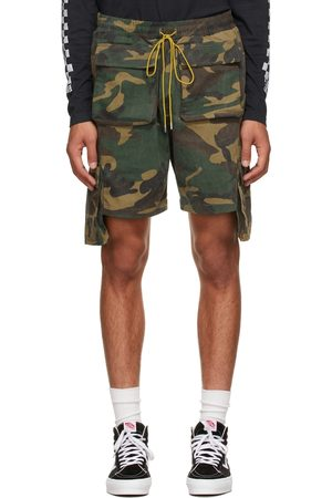 Rhude SSENSE Exclusive Brown Cargo Shorts