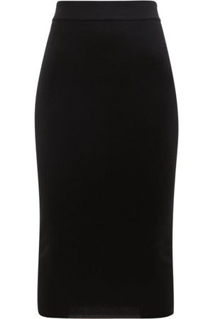Tom Ford Women Pencil Skirts - Ribbed Cashmere-blend Pencil Skirt - Womens
