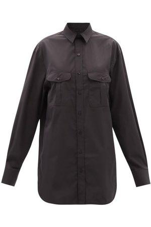 WARDROBE.NYC Release 06 Cotton Mini Shirt Dress - Womens