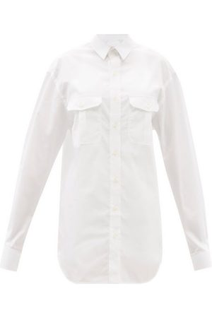 Wardrobe. nyc Release 06 Cotton Mini Shirt Dress - Womens