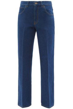 Victoria Beckham Romy High-rise Wide-leg Jeans - Womens