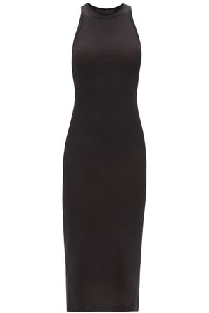 WARDROBE.NYC Release 06 Ribbed Cotton-jersey Dress - Womens