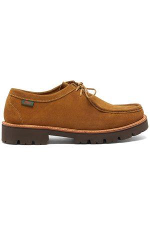 G.H. Bass Men Formal Shoes - Ranger Wallace Lace-up Suede Derby Shoes - Mens