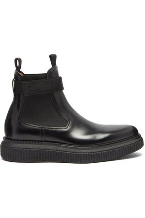 Dunhill Exaggerated-sole Leather Chelsea Boots - Mens