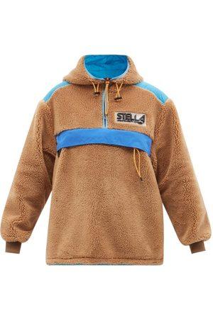 Stella McCartney Marlee Fleece Hooded Jacket - Womens - Camel