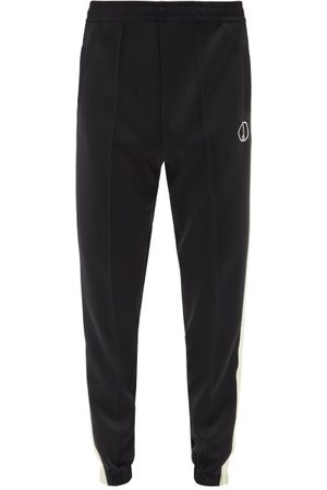 Dunhill Logo-embroidered Jersey Track Pants - Mens