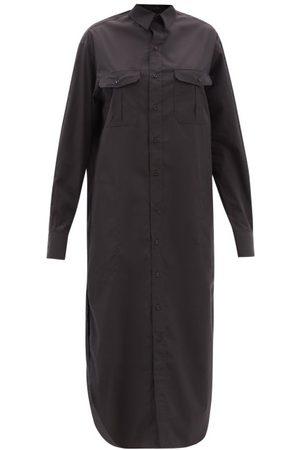 WARDROBE.NYC Release 06 Cotton Midi Shirt Dress - Womens