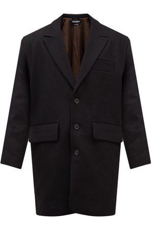 Jacquemus Oversized Single-breasted Virgin Wool-blend Coat - Mens