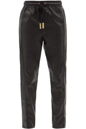Aje Women Sweatpants - Idyllic Recycled Faux-leather Trousers - Womens
