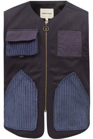 Nicholas Daley Patch-pocket Cotton-canvas Gilet - Mens - Navy