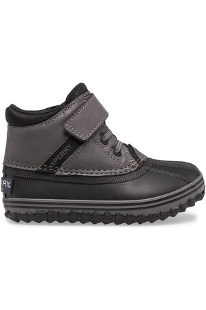 Sperry Top-Sider Sperry Kids Bowline Storm Junior Boot /Charcoal, Size 6M