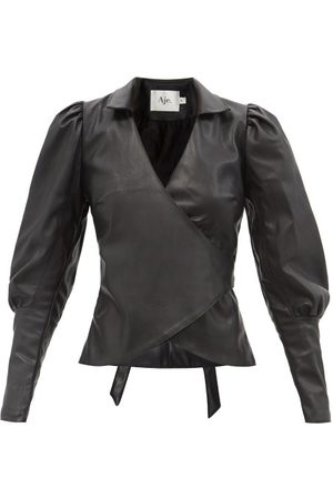 Aje Idyllic Recycled Faux-leather Top - Womens