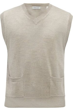 Another Aspect Organic Merino Wool Sweater Vest - Mens
