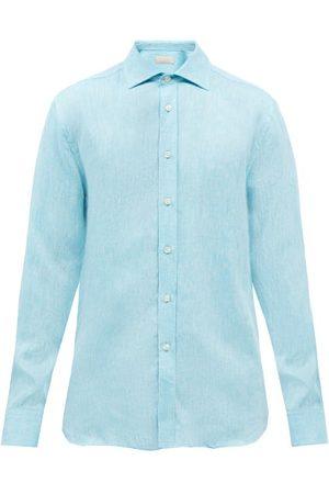 120% Lino Linen Shirt - Mens - Light