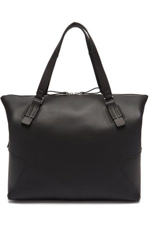 BONASTRE Men Travel Bags - Panelled Smooth-leather Holdall - Mens