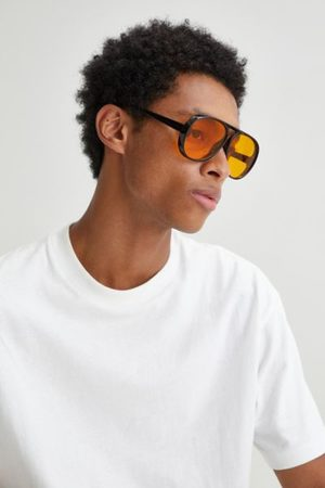 Urban Outfitters Billy Round Aviator Sunglasses