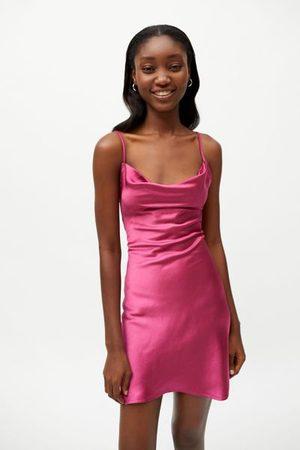 Motel Judith Tie-Back Mini Dress