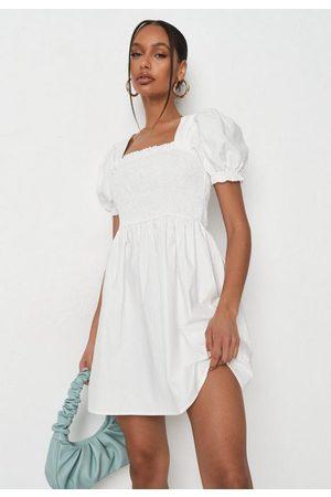Missguided Shirred Bust Mini Dress
