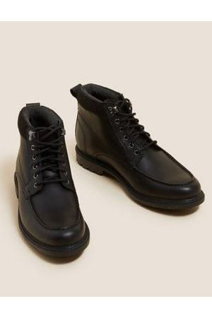 Marks & Spencer Leather Waterproof Casual Boots