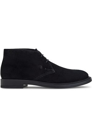 Tod's Polacco Suede Ankle Boots