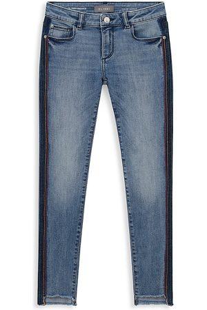 DL1961 DL1961 Premium Denim Girl's Chloe Side Stripe Skinny Jeans