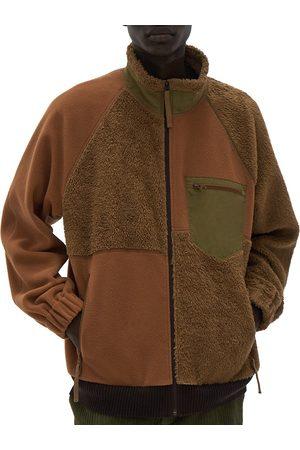 Helmut Lang Men Fleece Jackets - Patchwork Fleece Jacket