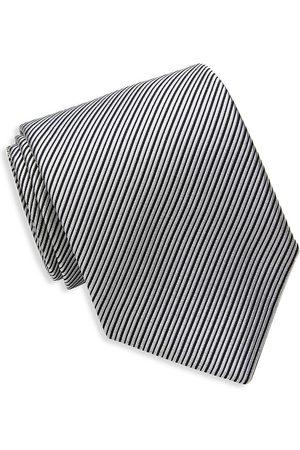 David Donahue Men Neckties - Patterned Silk Tie