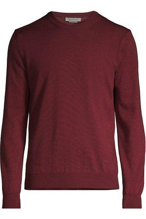 corneliani Men Sweatshirts - Extra Fine Merino Wool Sweater