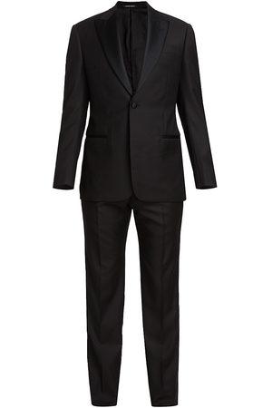 Armani Peak Lapel Single-Button Suit