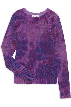Autumn Cashmere Boys Neckties - Little Girl's & Girl's Tie-Dye Cotton Sweater
