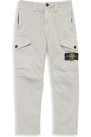 Stone Island Boys Cargo Pants - Little Boy's & Boy's Twill Cargo Pants