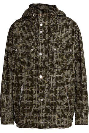Balmain Monogram Nylon Jacket