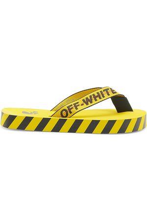 Off-White Belt Slider Flip-Flops