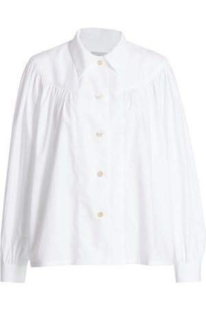 Rachel Comey Women Blouses - Ramos Cotton Blouse