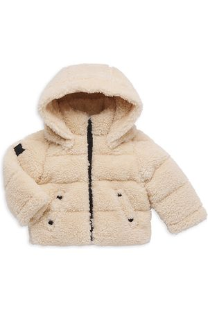 SAM. Girls Puffer Jackets - Baby Girl's Sherpa Down Snowbunny Jacket
