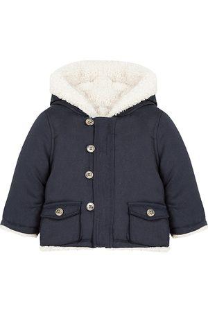 Tartine et Chocolat Baby's & Little Boy's Reversible Faux Sherpa Coat