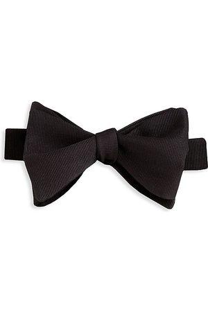 David Donahue Hook Silk Bow Tie