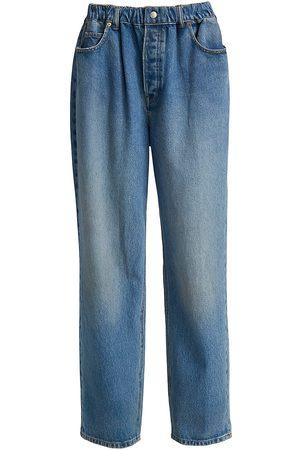 Alexander Wang Wide-Leg Pull-on Jeans
