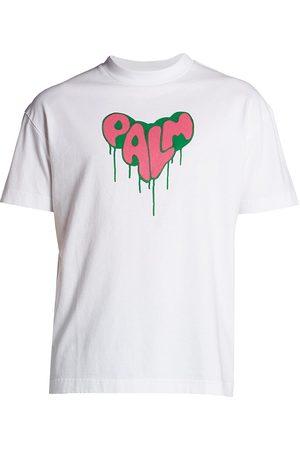 Palm Angels Spray Heart T-Shirt