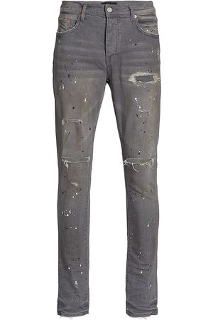 Purple Brand Distressed Skinny Jeans