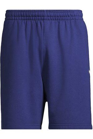 Balenciaga Campaign Logo-Embroidered Sweat Shorts