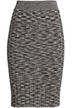 ATM Anthony Thomas Melillo Space-Dye Pencil Skirt