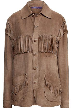 Ralph Lauren Dasha Suede Shirt Jacket