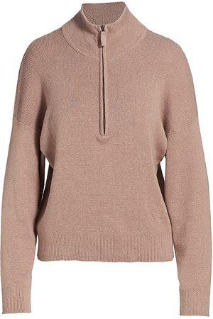 Monrow Half-Zip Sweater
