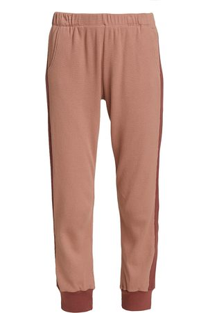 MONROW Women Tracksuits - Thermal Colorblock Joggers