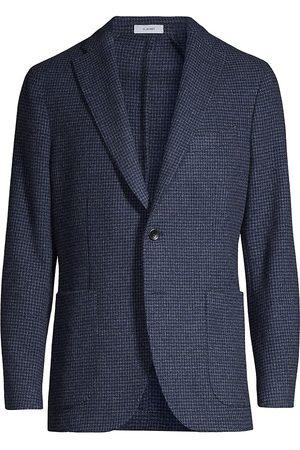 Boglioli Houndstooth Two-Button Jacket