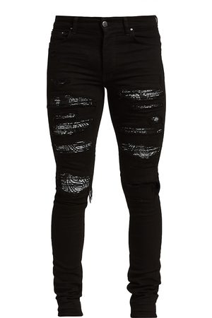 AMIRI Bandana Thrasher Skinny Jeans