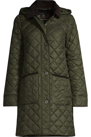 Barbour Lovell Hooded Quilted Long Coat