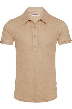 Orlebar Brown Linen Polo Shirt
